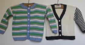 Trøjer, lækre hjemmestrikkede trøjer til de små
