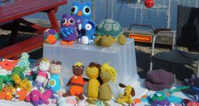 Præstø Kræmmermarked, hæklede dyr