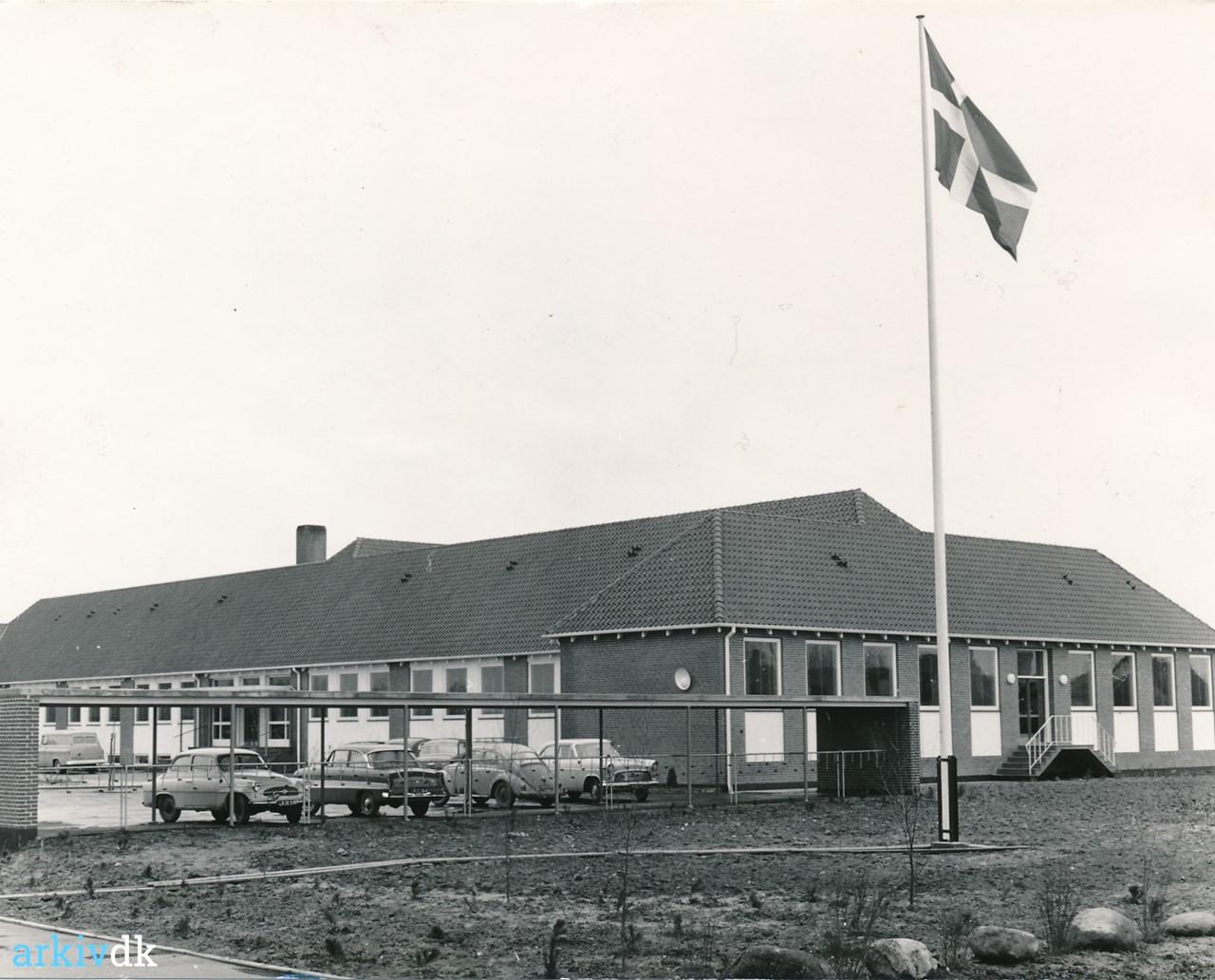 Bygninger Fejø Centralskole, 1960