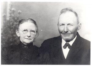 Arkiv billeder fra Fejø, Frederik Rudolf Andreas Petersen og Hansine Marie Nielsen