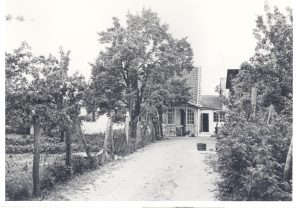 Arkiv billeder fra Fejø, Frederik Rudolf Andreas Petersen og Hansine Marie Nielsens hus