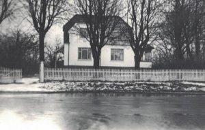Arkiv billeder fra Fejø, oversvømmelse Dybvig Havn