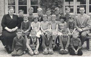 Arkiv billeder fra Fejø, skolebillede fra Østerby skole