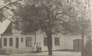 Arkiv billeder fra Fejø, Rudolf Petersens slagteri