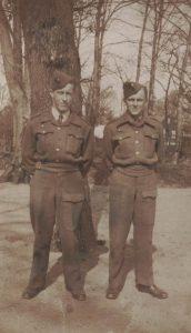 Arkiv billeder fra Fejø, Ole Jensen, soldaterbillede