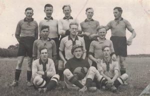 Arkiv billeder fra Fejø, herrefodboldhold