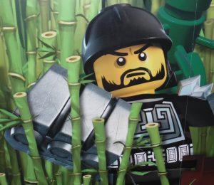 legoland,Ninjargo maleri på gangen