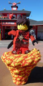 legoland, Ninjargo bygget af lego