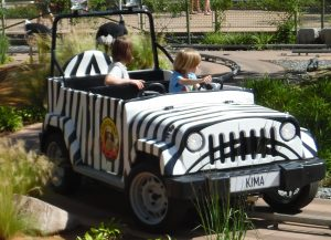legoland, køretur i safariland