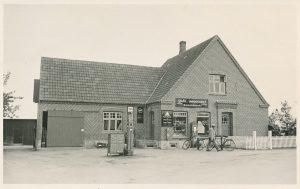 Arkiv billeder fra Fejø, Johannes Jørgensens Købmandsforretning