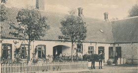 Fejø Andelsmejeri, postkort, cirka 1911