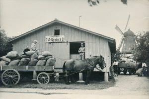 Arkiv billeder fra Fejø, Fejø Mølles kornlager