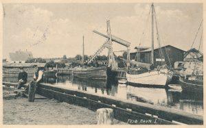Arkiv billeder fra Fejø, Dybvig Havn