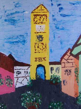 Byporten i uren, der omkranser den gamle by