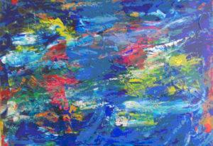 Fascinerende, smukt og dragende viser dette maleri havet og